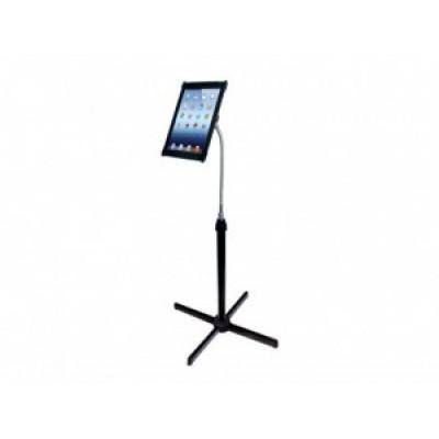 Support à col de cygne sur pied réglable en hauteur pour iPad