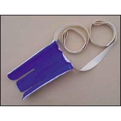 Enfile-bas recouvert de tissu éponge (ratine)