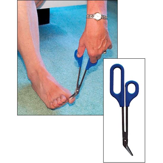 Ciseaux allongés pour ongles d'orteils