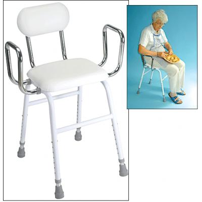 Tabouret avec siège incliné — modèle de luxe